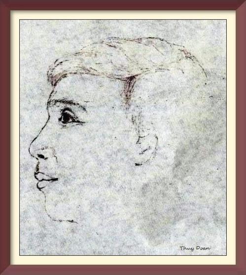 anh Thang framed